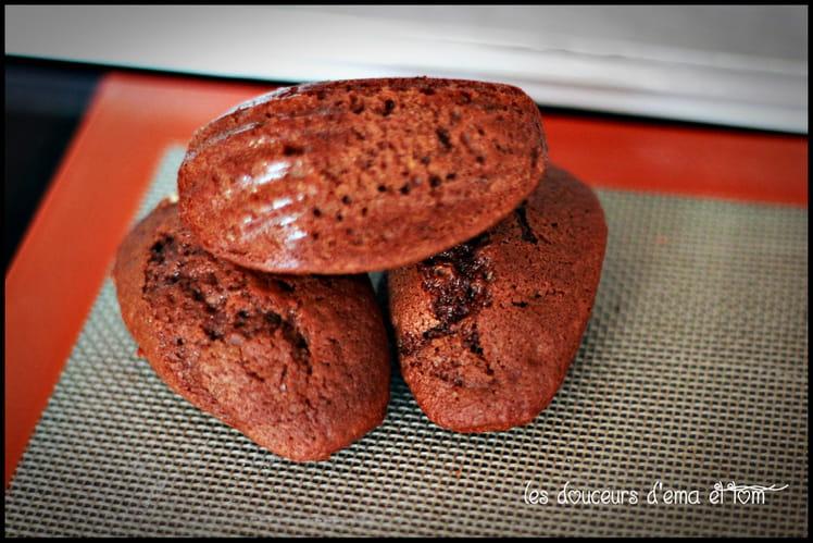 Madeleines chocolatées