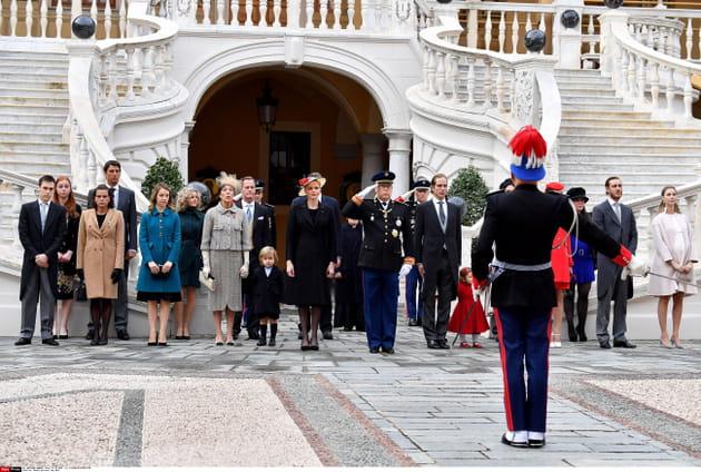 La famille princière de Monaco prend la pose