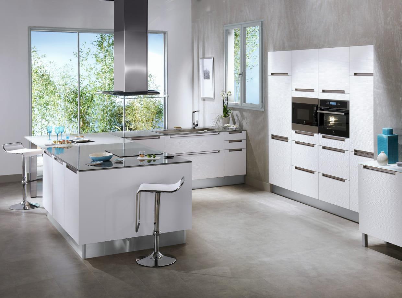 Cuisine stria blanc de lapeyre - Catalogue cuisine lapeyre ...