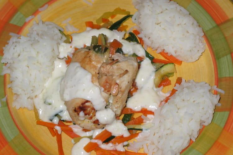 Escalopes de poulet au camembert