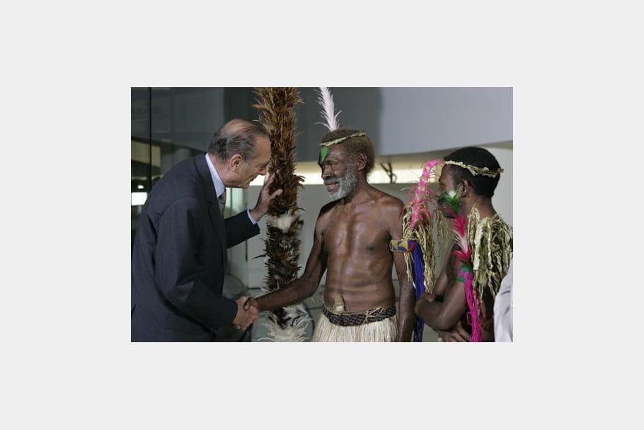 Jacques Chirac : le quai Branly