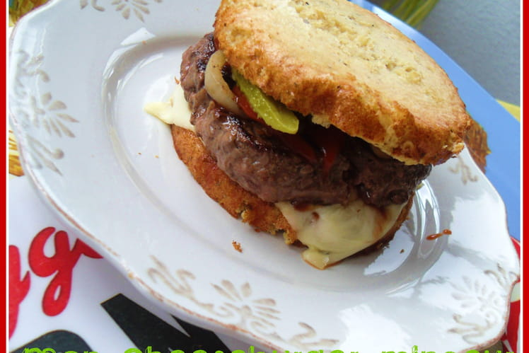 Mon cheeseburger minceur