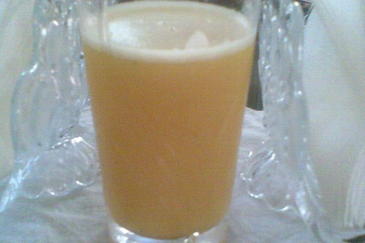 Coktail concombre ananas