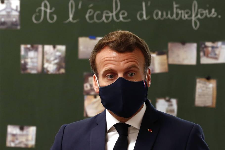 """L'élève Macronpar son prof: surnom, bouclettes et """"décalage"""""""