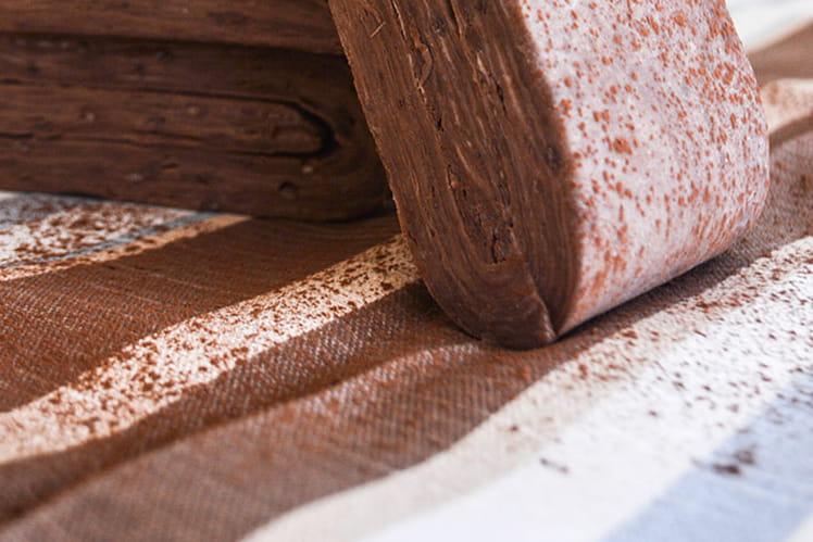 Pâte feuilletée au chocolat de Christophe Felder