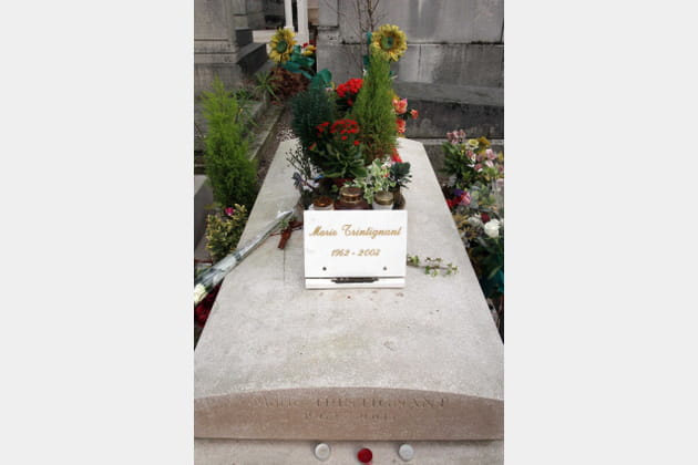 La tombe de Marie Trintignant