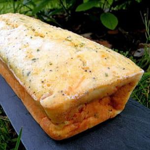 cake léger au saumon fumé et au citron