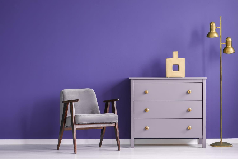 La couleur violet en déco: nuances, utilisation et association de couleurs