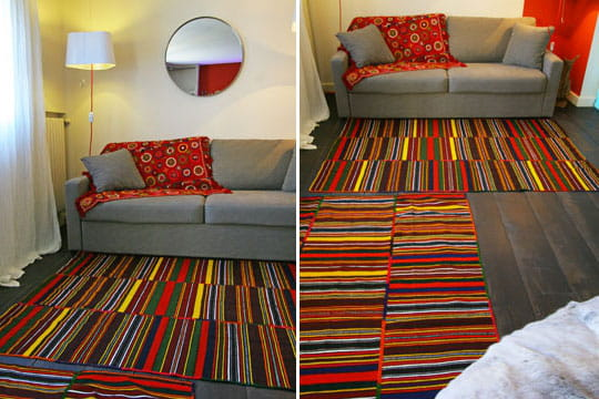 Salon tapis