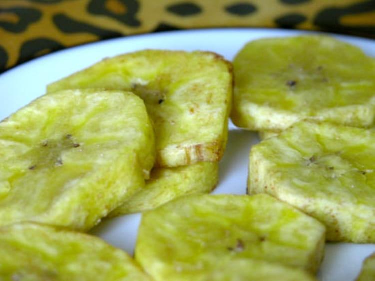 recette de bananes plantain frites : la recette facile
