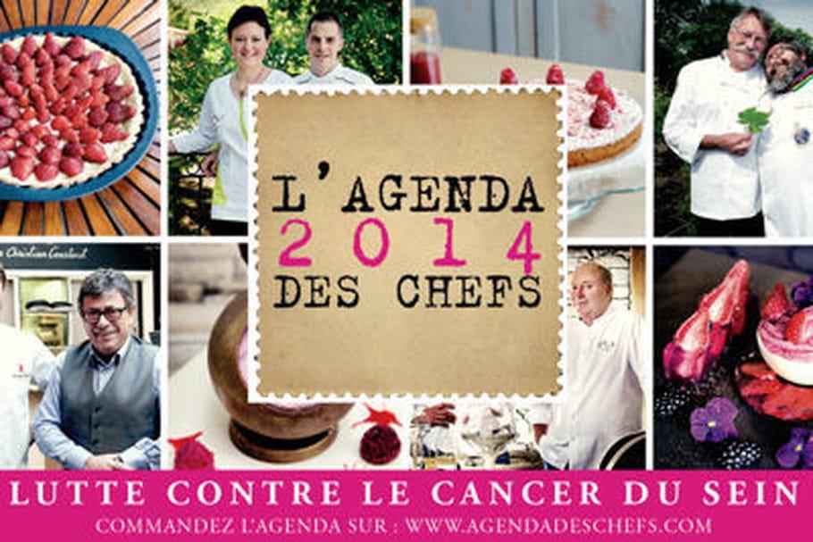 Octobre Rose : l'Agenda des Chefs 2014 est disponible