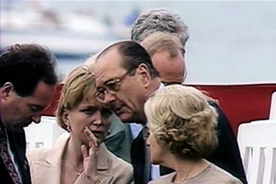Jacques et Claude Chirac