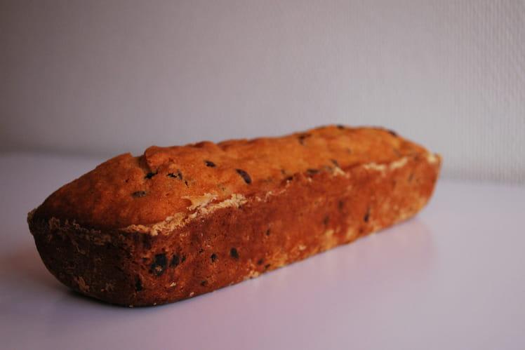 Cake abricots et pépites de chocolat