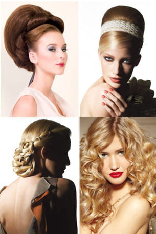 les coiffures de mariées, tendances pour 2012.