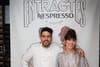 Nora Hamzawi célèbre le chef Simone Tondo chez Nespresso