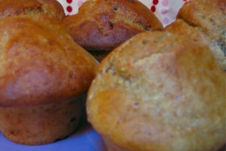 Muffins aux carottes et au cumin
