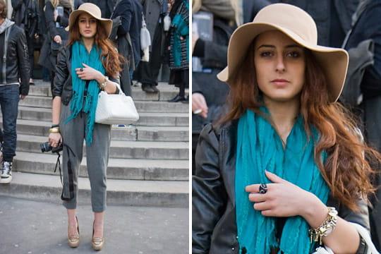 Fashion week : les street looks des défilés parisiens PAP automne-hiver 2011-2012 36