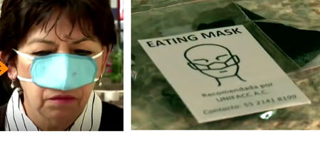 Masque nasal mexique