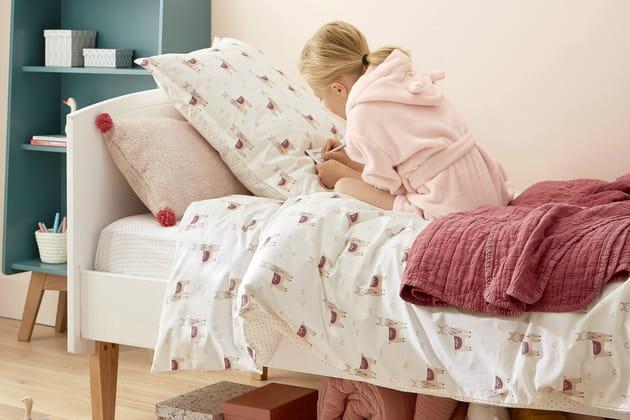 Une parure de lit lama