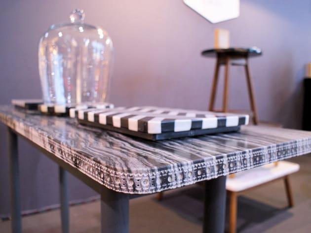 Table en marbre de Bethan Gray