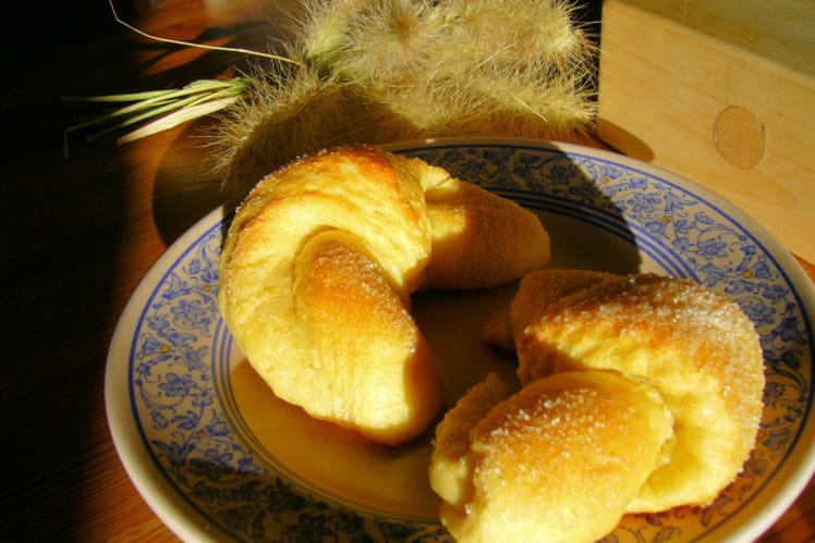 Croissants allemands (Brunnengipfel)