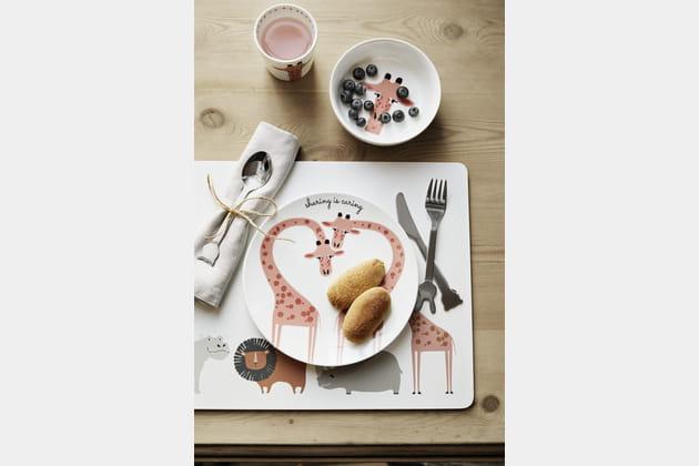 Assiette en porcelaine H&M Home