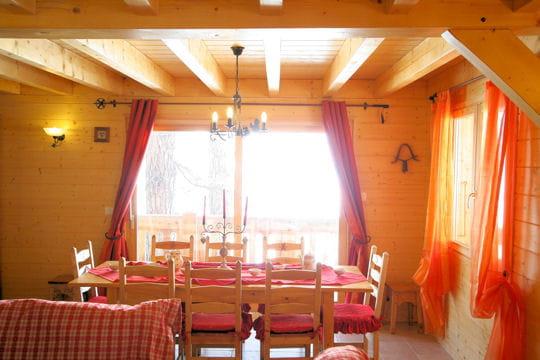 Salle à manger au soleil
