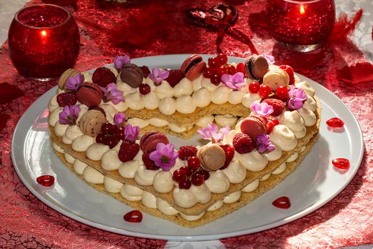 Coeur gourmand pour St-Valentin