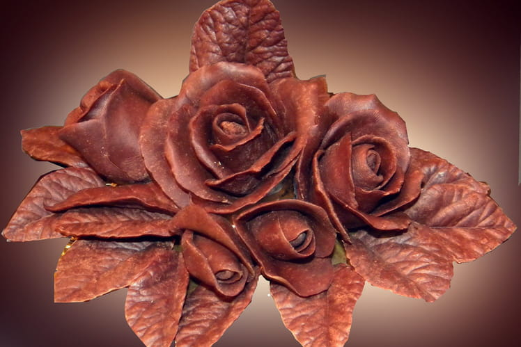 Pâte à modeler au chocolat