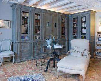 un coin cosy et intime. Black Bedroom Furniture Sets. Home Design Ideas
