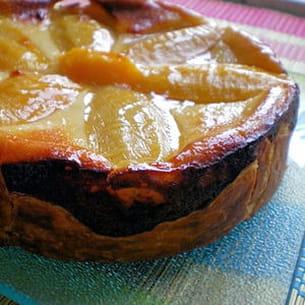 flan pâtissier à la mangue
