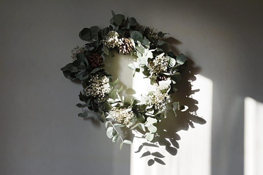 Créez une couronne végétale à partir d'un bouquet [TUTO]