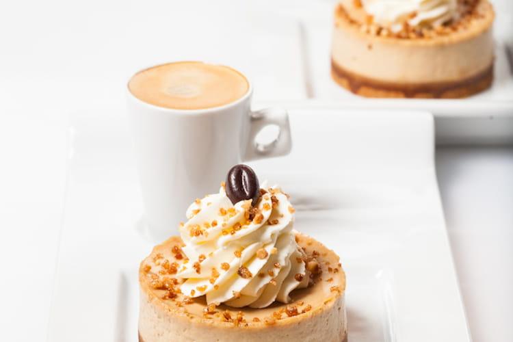 Cheesecake cappucino, noisettes caramélisées de She's Cake