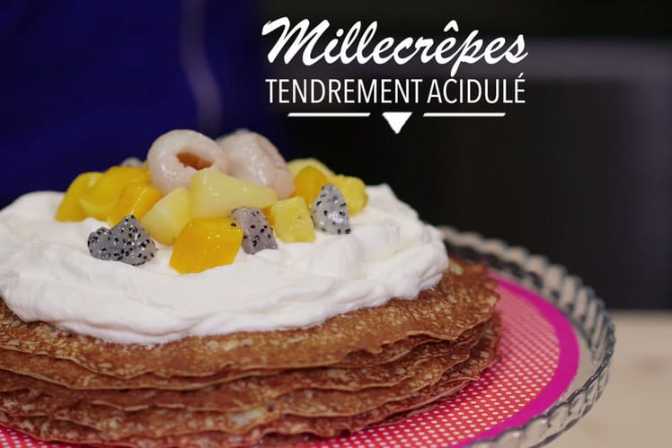 Millecrêpes tendrement acidulé