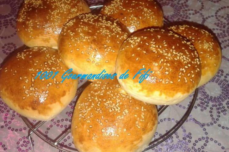 Pains à hamburger maison
