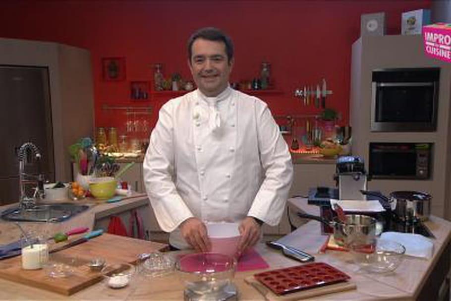 Jean-François Piège, maestro de l'Impro en cuisine