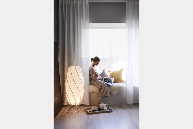 rebord de fen tre comme une banquette. Black Bedroom Furniture Sets. Home Design Ideas