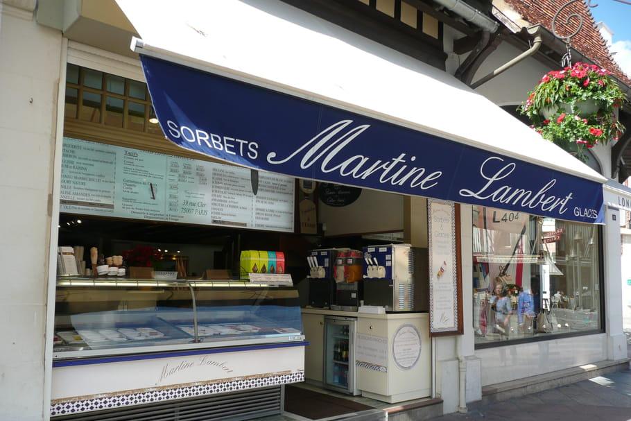 Martine Lambert, la reine des glaces