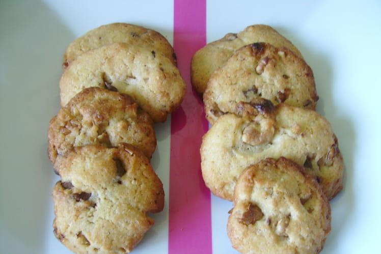 Cookies délice aux deux chocolats