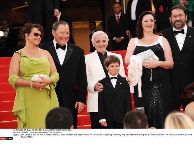Pendant le Festival de Cannes en 2009, pour la projection de LA-HAUT