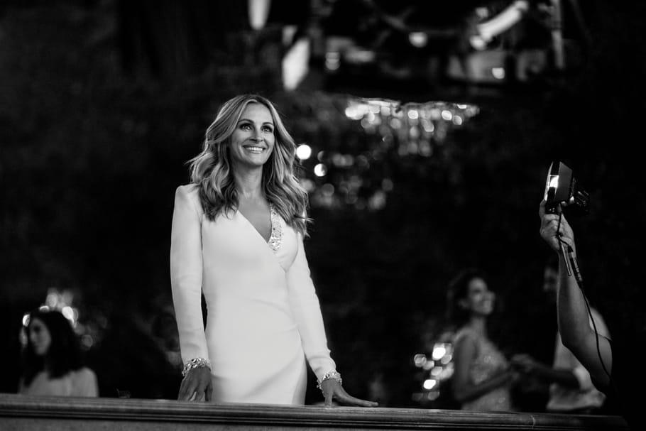 Julia Roberts sourit toujours pour La vie est belle de Lancôme
