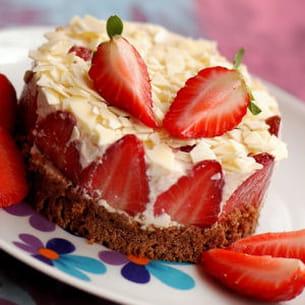 délice fraises & chocolat blanc