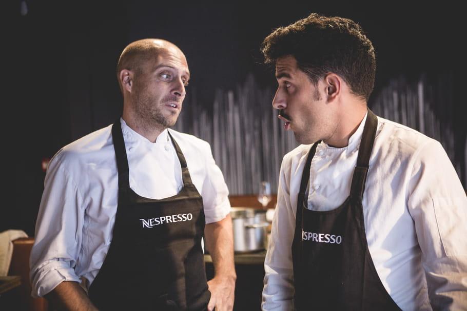 Deux chefs italiens subliment les nouveaux crus Nespresso