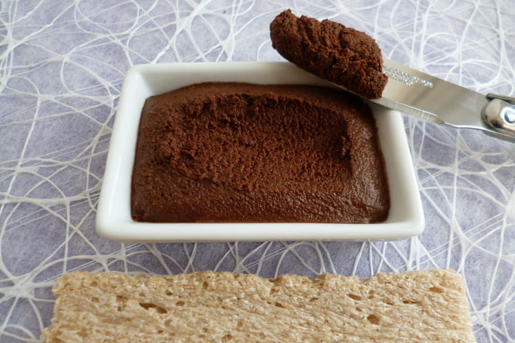 Tartinade crue cacao et noix de coco