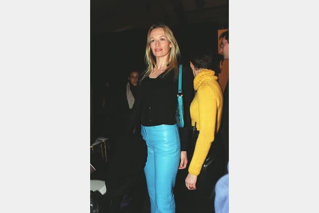 Estelle Hallyday le 13juin 2000