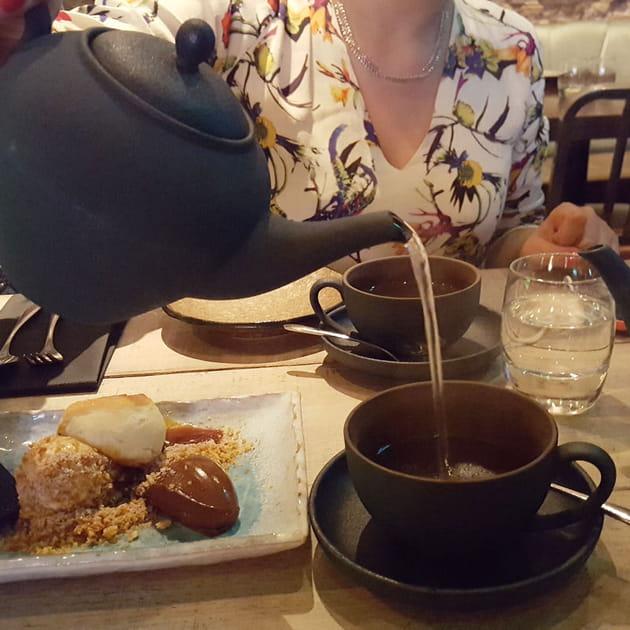 Thé à l'aloe vera chez Jinjuu