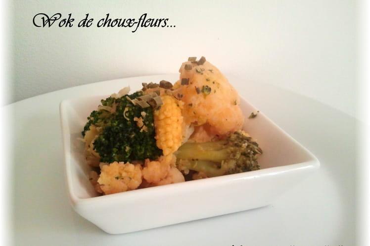 Wok au chou-fleur