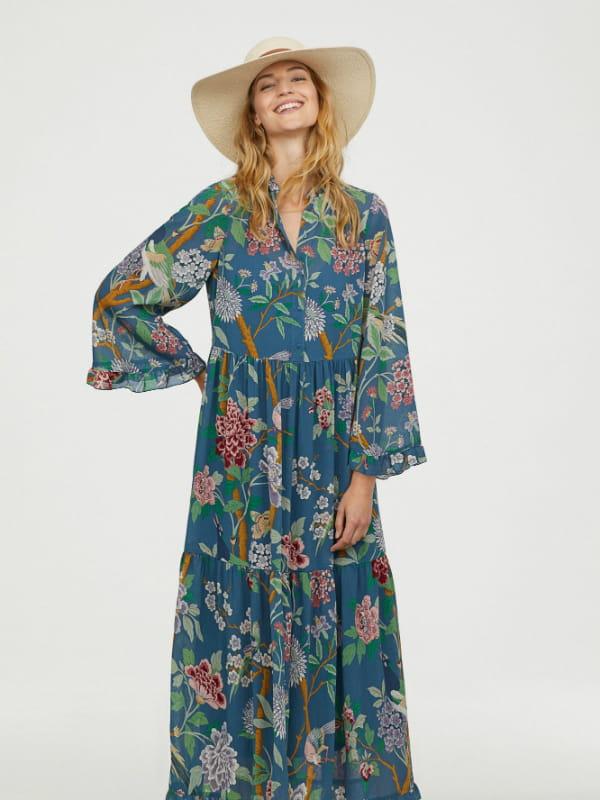 acheter mieux riche et magnifique beaucoup de choix de Robe fleurie de GP & J Baker X H&M