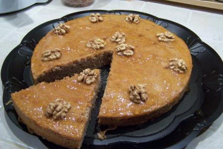 Gâteau moelleux aux noix