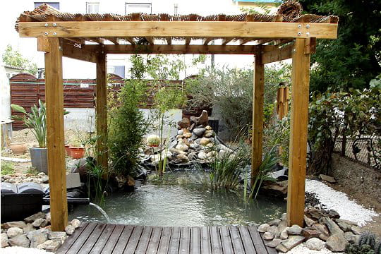 Un bassin à la japonaise